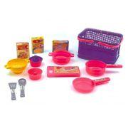 Brinquedo Cesta Cozinha Completa Pica-Pau - 533
