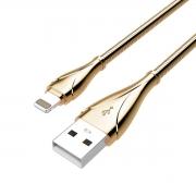 Cabo C3tech USB x Lightning 2,4A 1 Metro - CB-L190GD