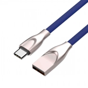 Cabo C3tech USB x USB-C 2,4A 1 Metro - CB-C180BL