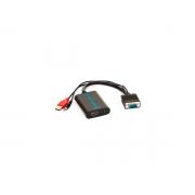 Cabo Conversor VGA+Audio x HDMI-F Gv CBC.1028