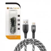 Cabo de Dados Lightning 8P Mais Mania 534, USB 2.0, Fibra de Aramida, 2,0A, 1m
