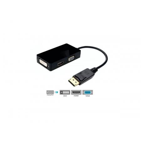 Cabo Display Port-M x HDMI/DVI/VGA F Gv CBM.702