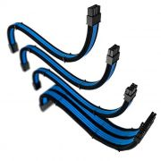 Cabo Sleeved Rise Mode 4 Kit Preto e Azul RM-SL-01-BB 30cm