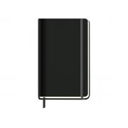 Caderneta de Anotações 2020 Grande World Class Pautada Preta, 80 Páginas, São Domingos - 9814