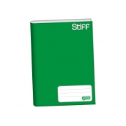 Caderno Brochura 1/4 Capa Dura, Contém 96 Folhas, Jandaia - Verde - 0005411