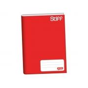 Caderno Brochura 1/4 Capa Dura, Contém 96 Folhas, Jandaia - Vermelho - 0005511