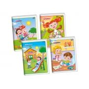 Caderno Brochura Flexível, 60 Folhas, Pacote C/ 20 Unidades, Jandaia - 40877