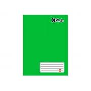 Caderno Brochurão, 96 Folhas, Caixa Com 05 Unidades - Máxima Caderno - Verde - 465