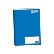 Caderno Brochurão Capa Dura, 96 Folhas, Pacote C/ 5 Unidades, Jandaia - Azul - 6011