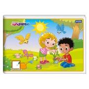 Caderno de Desenho Brochura 1/4 Flexível, Contém 40 Folhas, Caixa Com 20 Unidades, Jandaia - 0040277