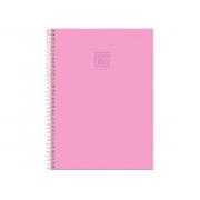 Caderno Espiral 10x1 Capa Dura Fluor Mix Soft, 200 Fls. Pct. C/4 Unidades - Foroni