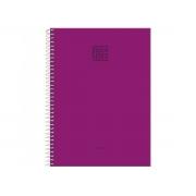 Caderno Espiral 1x1 Capa Dura Fluor Mix Soft, 96 Fls. Pct. C/4 Unidades - Foroni