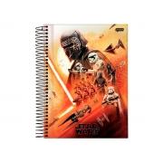 Caderno Espiral 1x1 Star Wars Filme 96 Fls. Pct. C/ 4 Unidades - Jandaia - 6156720