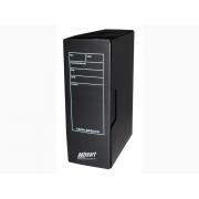 Caixa Arquivo Comercial, Com Impressão e Trava, Pacote Com 10 Unidades, Polycart - Preto - 4007PT
