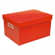 Caixa Organizadora G Polibras - Vermelha (fosca) - 223/07