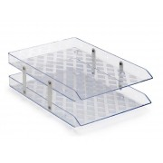 Caixa para Correspondência Dupla Fixa, Waleu - Cristal - 10050006