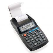 Calculadora Compacta de Mesa com bobina, 12 dígitos / relógio / dupla Fonte, Elgin - 42MA51110000