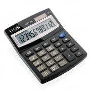 Calculadora de Mesa Com Visor, 12 Dígitos, Solar / Bateria, Elgin - 42MV41240000