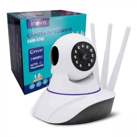 Câmera Inteligente Inova CAM-5702, Onvif, Wi-Fi