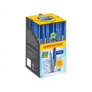 Caneta Esferográfica 0.7, Caixa C/ 50 Unidades, Compactor - Azul