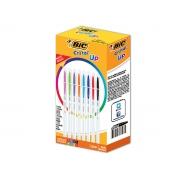 Caneta Esferográfica Cristal Up 1.2mm, Caixa Sortida c/  32 Unidades - Bic - 930008