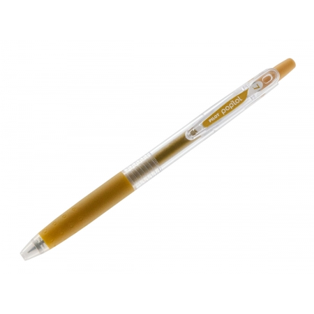 Caneta Gel Pop' Lol 0.7 Dourado, Cx. C/ 12 Unidades - Pilot - 241005DO