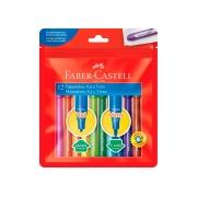 Caneta Hidrográfica Vai e Vem 12 Cores, Pct. C/ 6 Caixinhas - Faber Castell - 150112WZF