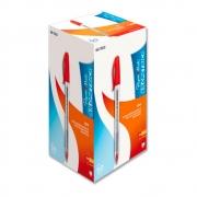 Caneta Kilometrica 100 Vermelho Caixa Com 50 Unidades Papermate - 300068