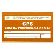 Carnê GPS / INSS, 12 x 2 Vias, Contém 10 Unidades, São Domingos - 6006