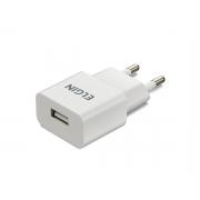 Carregador USB para tomada, Bivolt, 1 saída USB 1A 5W, Elgin - 46RCT1USB000