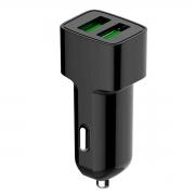 Carregador Veicular C3Tech UCV-20BK 2 Portas USB 2,4A