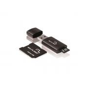 Cartao de Memoria Classe 10 16GB Multilaser Com Kit Adaptador MC112