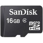 Cartão de Memória Micro SD SanDisk SDSQM-016G-B35 16GB