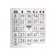 Cartela de Bingo Free Jornal, 100 Folhas, Pacote C/ 15 Blocos - 6