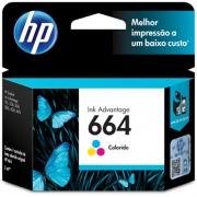 Cartucho 664 colorido F6V28AB HP