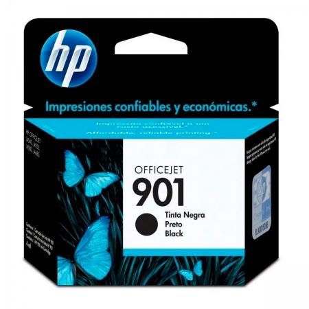Cartucho de Tinta HP 901, Preto - CC653AL