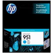 Cartucho de Tinta HP Officejet 951 Ciano CN050AB
