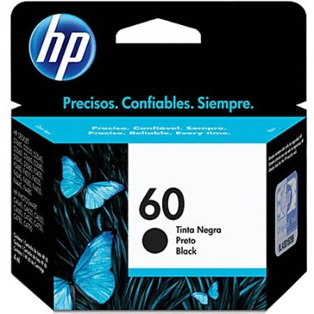 Cartucho HP 60 CC640WB - Preto