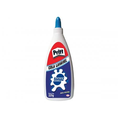 Cola Branca Tenaz Lavável, 225 g, Caixa Com 12 Unidades, Pritt - 1129275