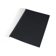 Contra-capa para Encadernação A4 Preta, Pacote c/ 100 Unidades - ACP - 1337PT
