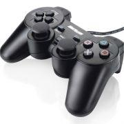 Controle Dualshock Preto JS030 PC Multilaser