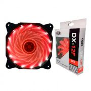 Cooler Dex DX-12F 120mm LED Vermelho - 4421