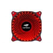 Cooler Fan C3tech F7-L130RD Storm 12cm 30led Vermelho
