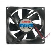 Cooler GV COL.897 80x80 25mm 12V 4 Pinos Molex