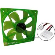 Cooler LED Verde 120x120mm Empire