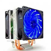Cooler Processador Universal Intel/AMD Duplo Fan C/ LED M200 Empire - COL.9101