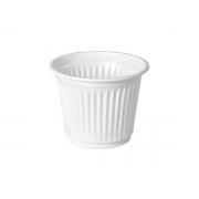 Copo Descartável Branco 50ml, Caixa C/ 50 Pacotes de 100 Copos Cada, Copoplast