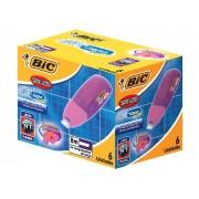 Corretivo Fita Micro Tape Twist 4.2mm x 8m, Cx. C/ 6 Unidades - Bic - 878472