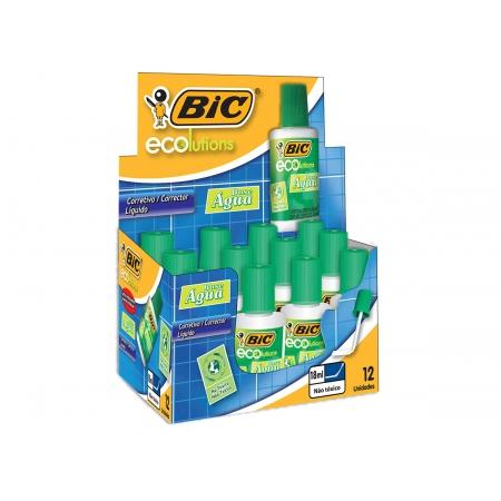 Corretivo Liquido Aqua 18ml, Cx. C/ 12 Unidades - Bic - 930762