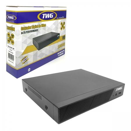 DVR TWG 8 Canais, 1080N, 6x1, HDMI, Protocolo Net IP e Onvif, Full HD - TW-6108T LM